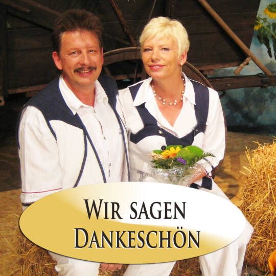 Cover Titel Dankeschön Volksmusikduo Jo & Josephine
