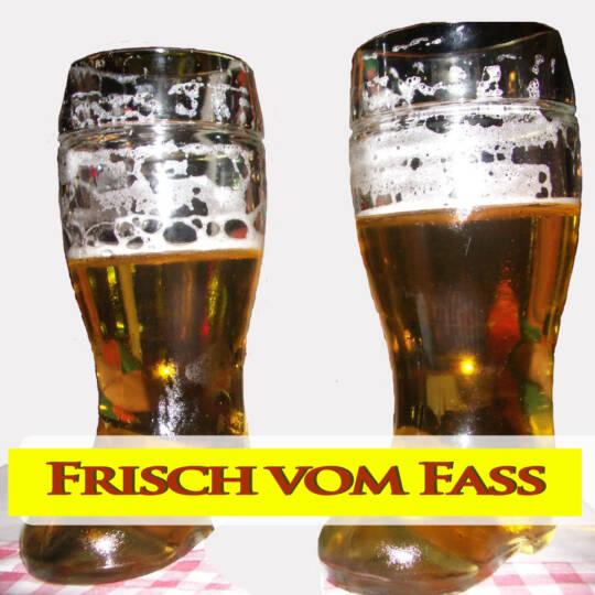 Trinklieder Cover Frisch vom Fass - Bierher