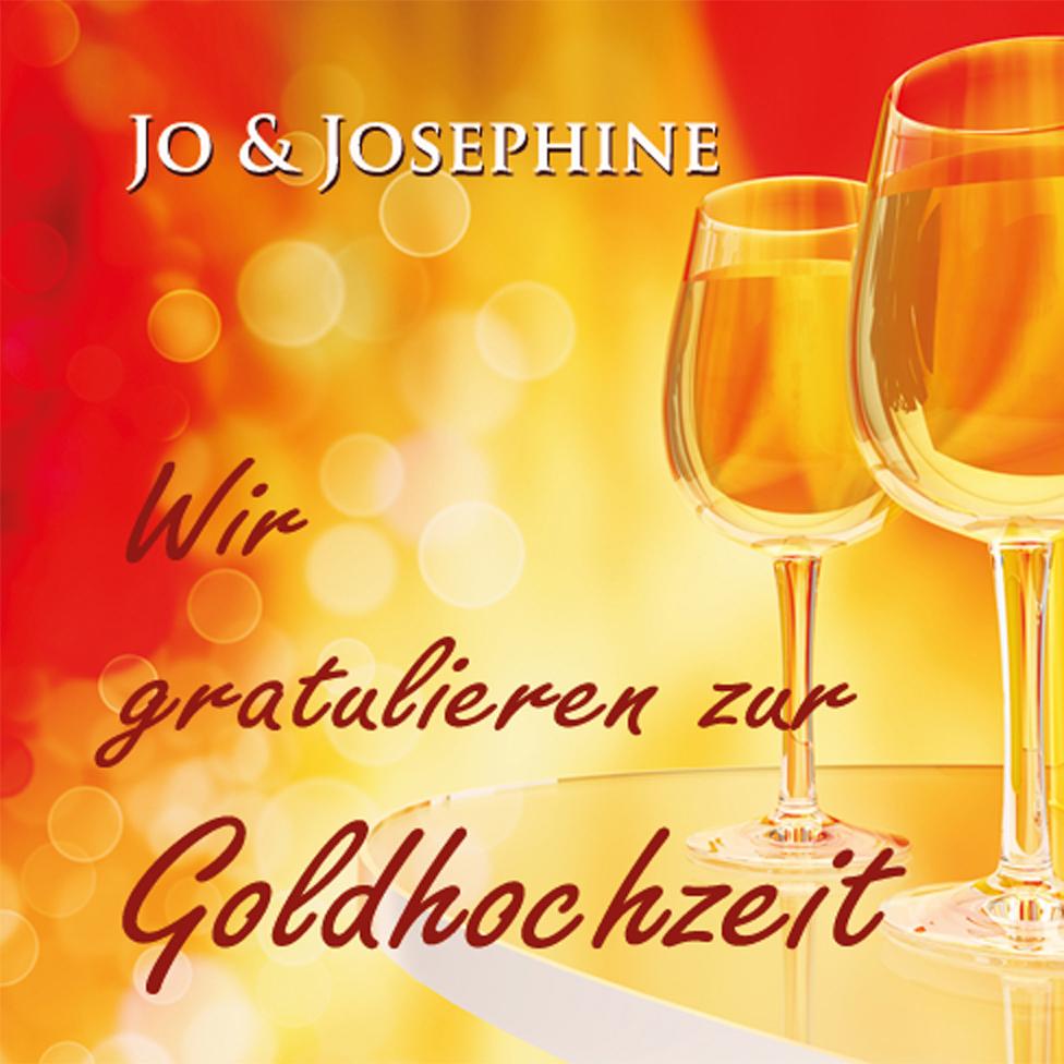 Cover eines der Lieder zur Goldhochzeit von Jo & Josephine