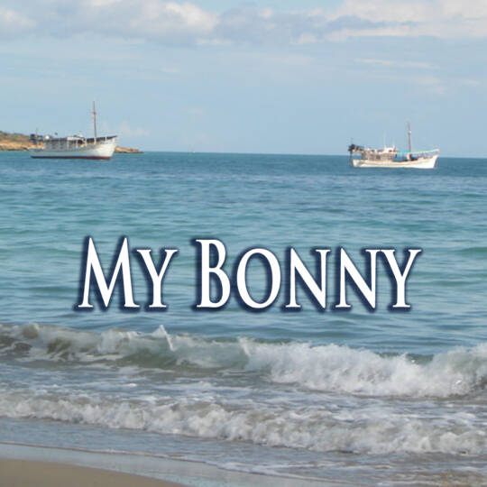 Cover My Bonnie lies over the ocean