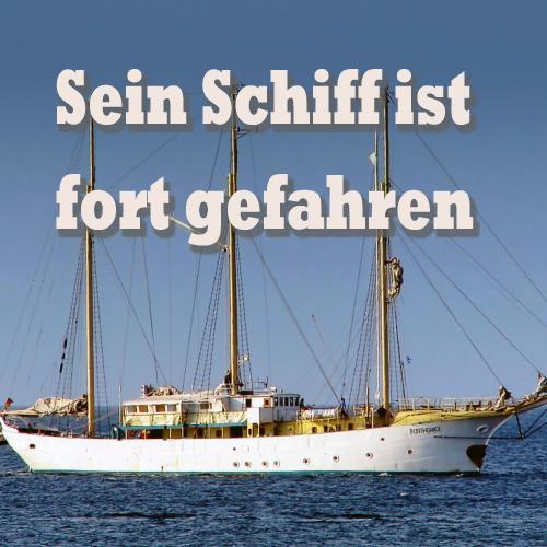 Cover Sein Schiff ist fort gefahren Gesangsduo Jo & Josephine melancholische Liebeslieder