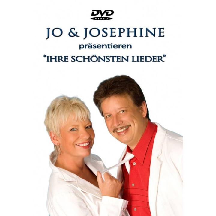 Volksmusik und Schlager von Jo & Josephine DVD-Cover