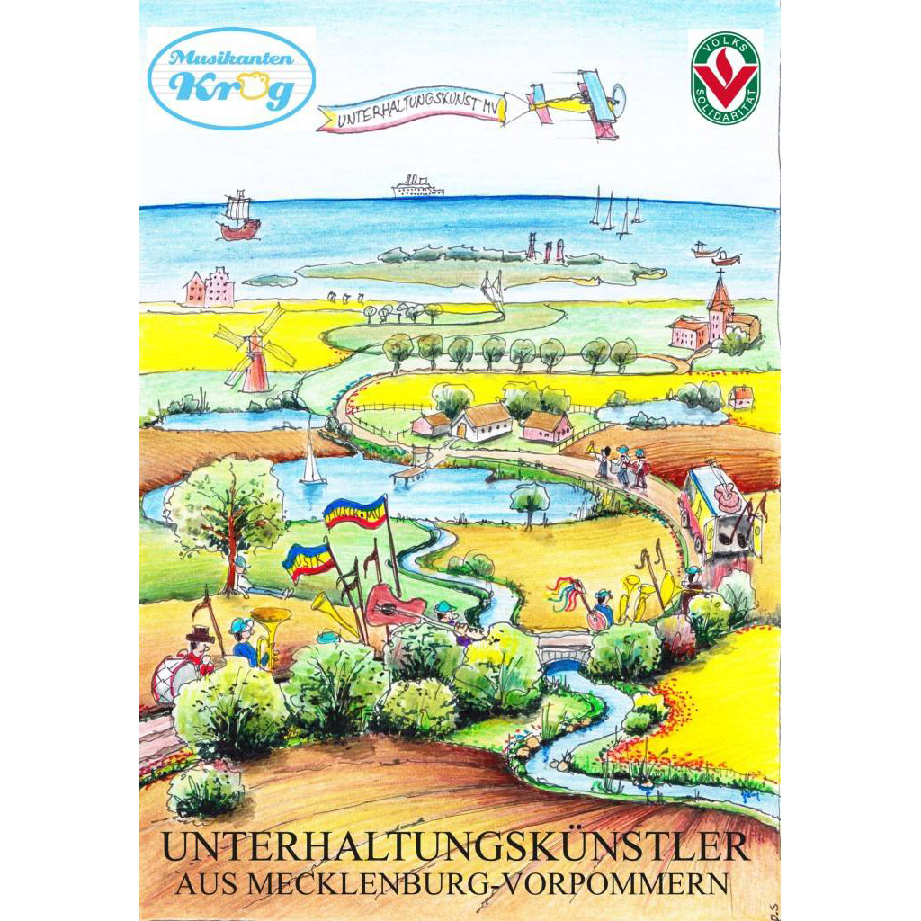 Deutsche Volksmusik und mehr aus MV DVD-Cover