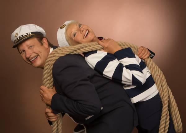 Gesangsduo maritime Musik mit Tau