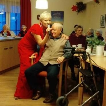 Benefizveranstaltung im Seniorenheim