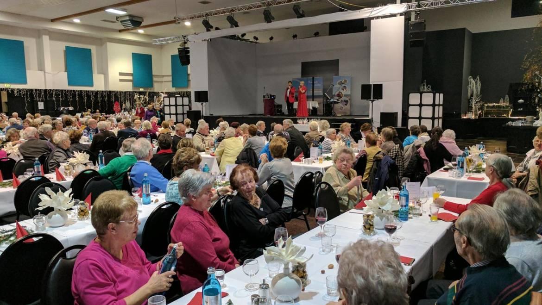Weihnachtsfeier mit Senioren in Linstow