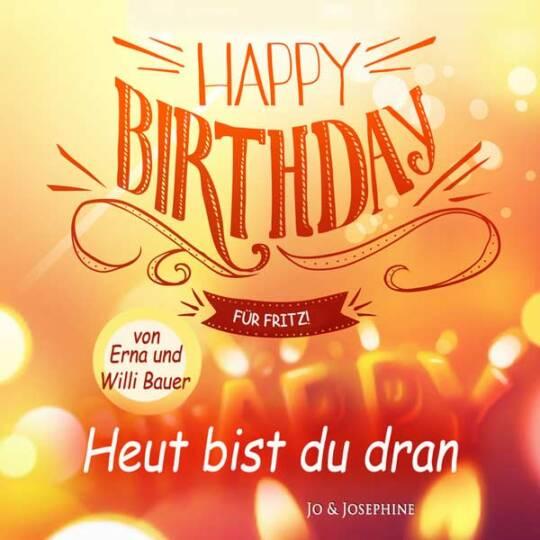 Personalisierte DVD zum Geburtstag Cover