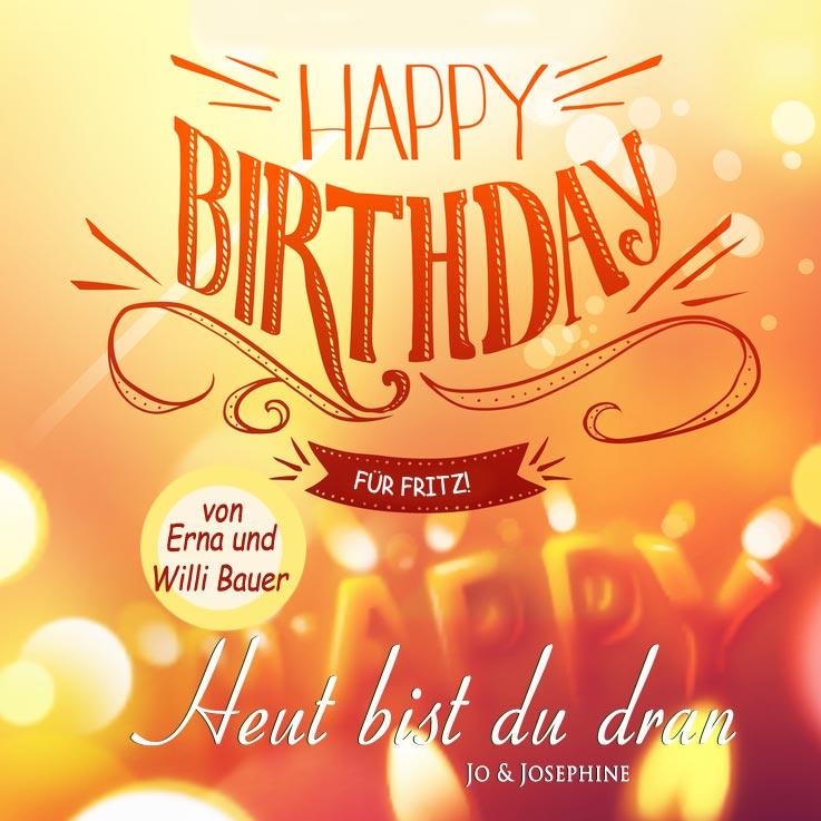 Herzlichen Glückwunsch Zum Geburtstag Personalisierte Dvd Jo