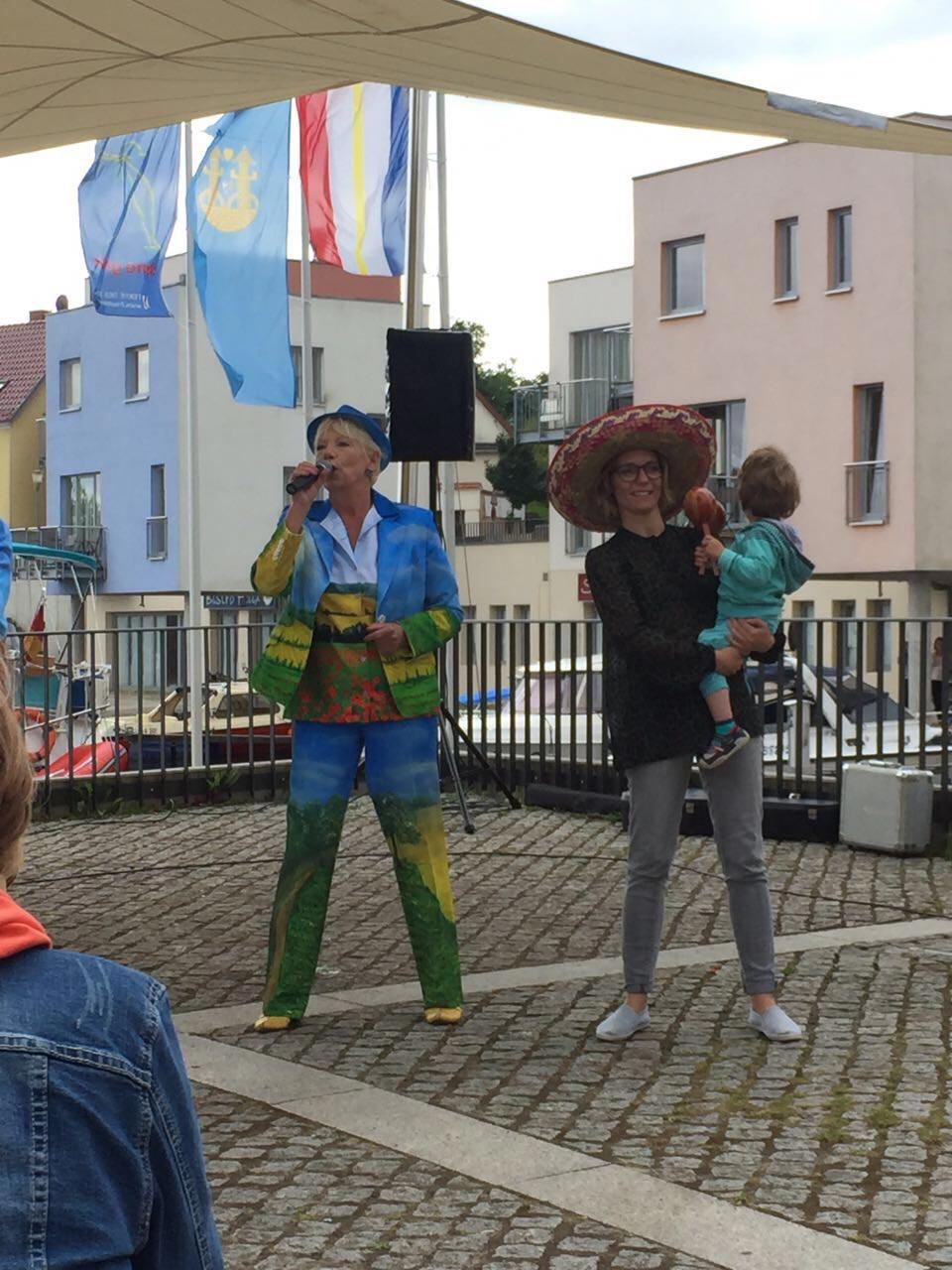 Maritime Show im mecklenburgischen Malchow