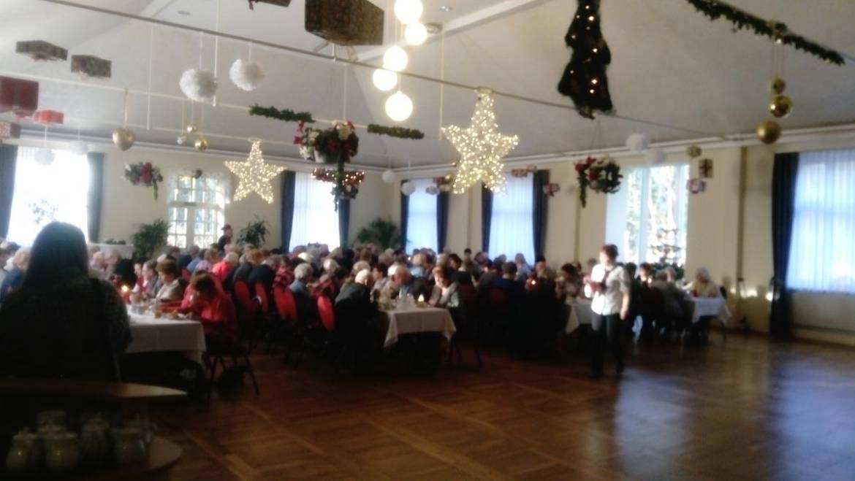Fröhliche Weihnachtsfeier in Kyritz