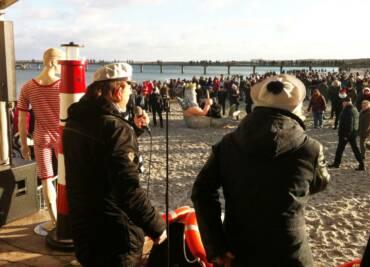 Maritimes Showprogramm in Boltenhagen