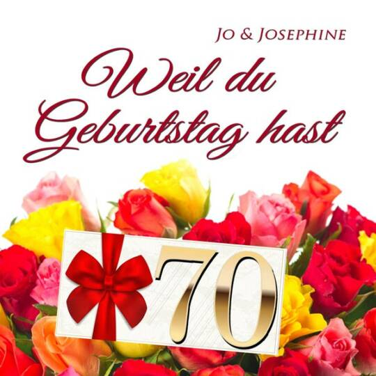Geburtstags Schlager Lieder weil du geburtstag hast zum 70. cd-Cover