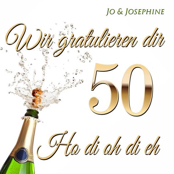 Glückwünsche zum 50. Geburtstag CD-Cover