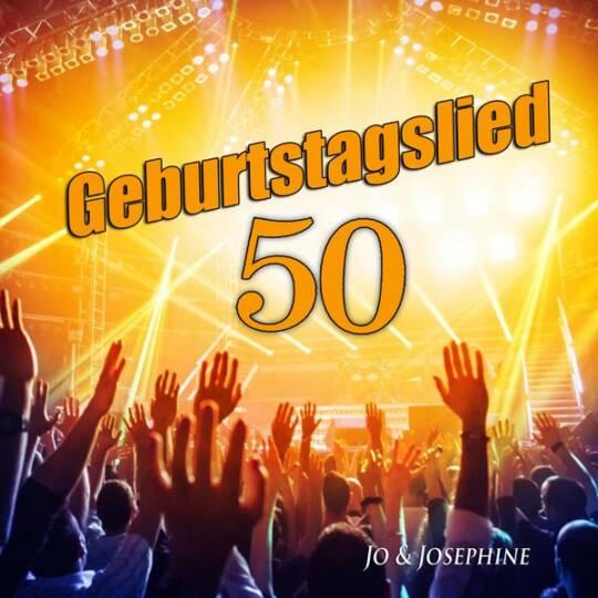 geburtstagslied zum 50. geburtstag cd-cover