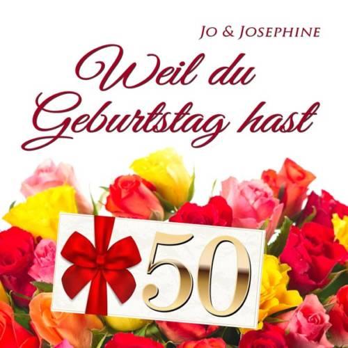 alles Gute zum 50. Geburtstag Geburtstagslied zum 50. CD-Cover