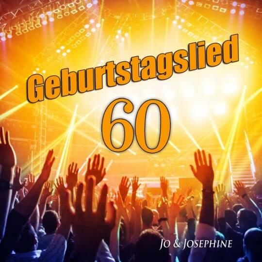 geburtstagslied zum 60. geburtstag cd-cover