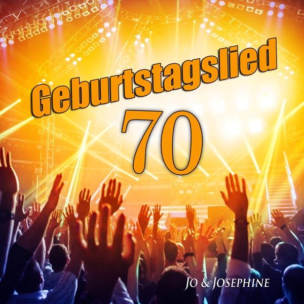 geburtstagslied zum 70. geburtstag cd-cover