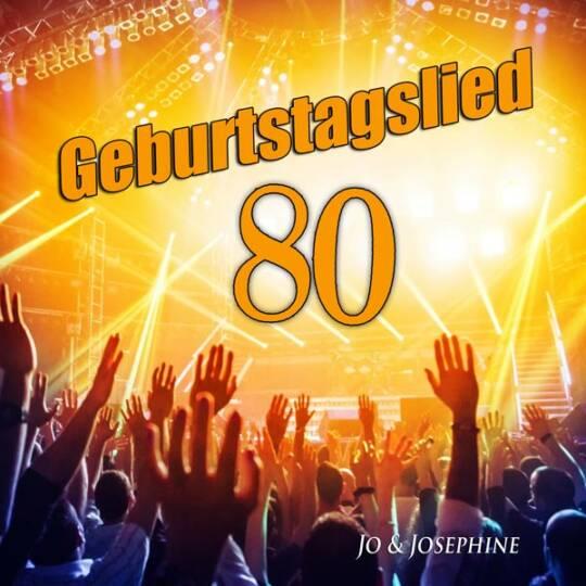geburtstagslied zum 80. geburtstag cd-cover