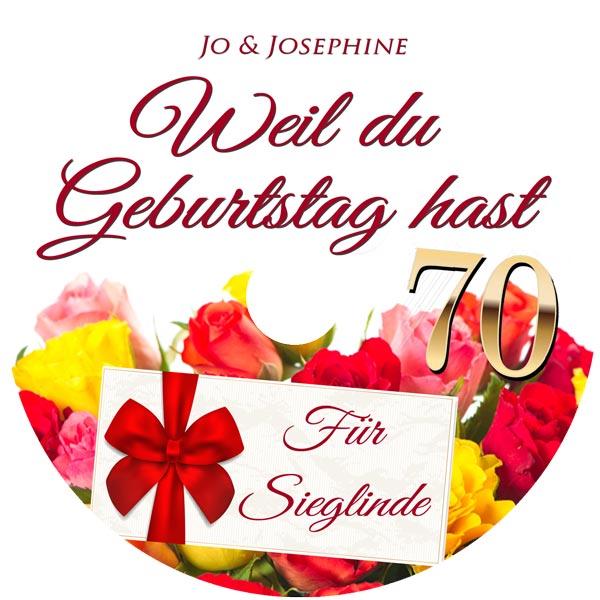 label CD Weil du Geburtstags hast Schöne Geburtstagswünsche