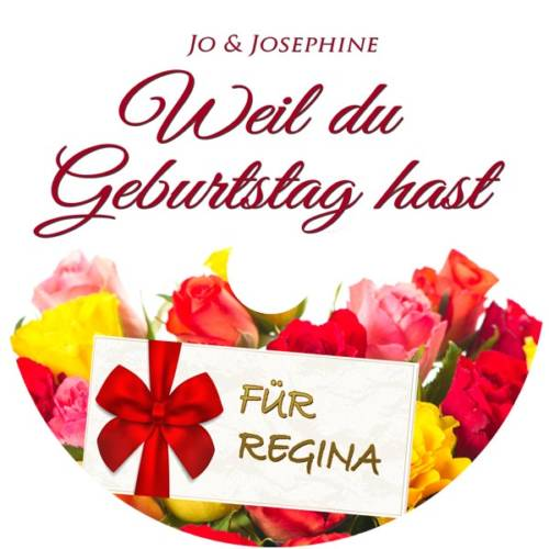 label personalisierte CD Weil du Geburtstag hast