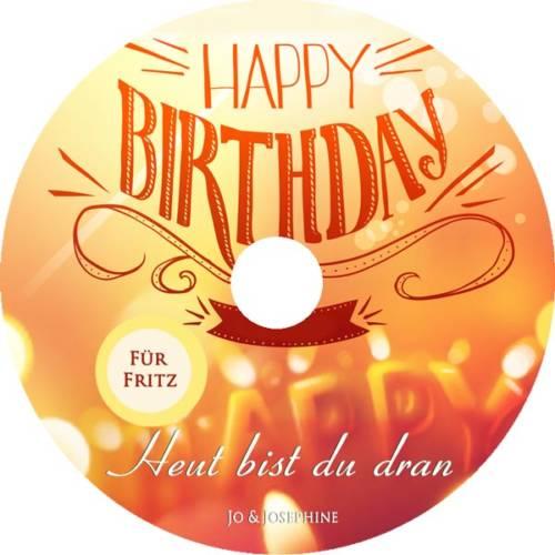 label personalisiertes Geburtstagslied