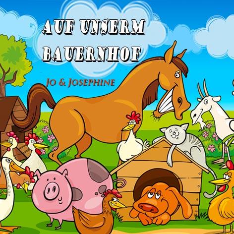 Lieder für Kinder Cover Auf unserm Bauernhof