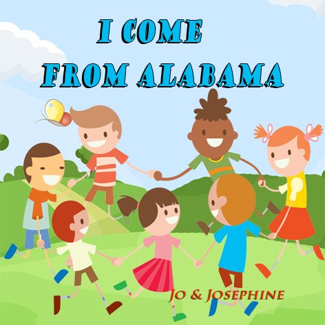 Englische Kinderlieder I come from Alabama Cover