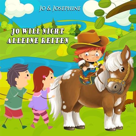 Kindergartenlieder Cover Jo will nicht alleine reiten