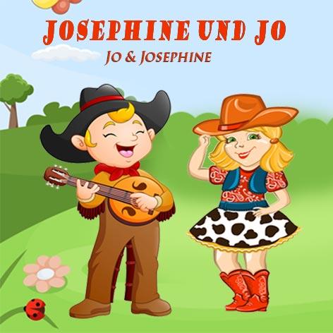 Kindergartenlieder Cover Josephine und Jo