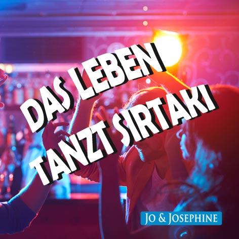 Cover Schlagerhit Das Leben tanzt Sirtaki