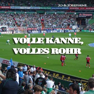 Cover Fußballlieder Volle Kanne volles Rohr Schlagerduo Jo & Josephine