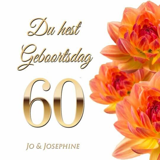 Plattdeutsches Geburtstagslied zum 60 Cover Geburtstagsgrüße auf Plattdeutsch