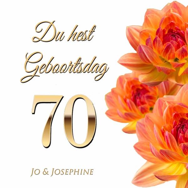 Plattdeutsches Geburtstagslied zum 70 Cover