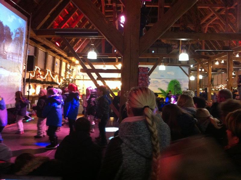 Weihnachtsmarkt in Lohmen mit Schlagerduo