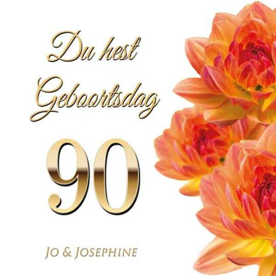 Lieder zum 90. Geburtstag