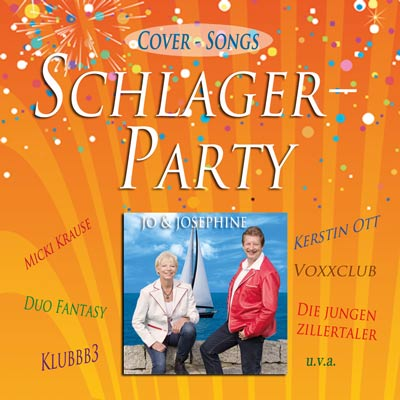 Schlager mit Schlagerduo Coversong CD Label