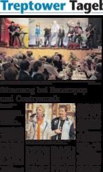 Nordkurier TV-Show des Schlagerduos Jo & Josephine in Altentreptow