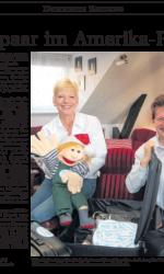 Preseartikel Schlagerduo Jo & Josephine vor Amerika-Tournee