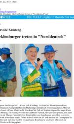 Airbrush Garderobe Gesangsduo Presseartikel Die Welt