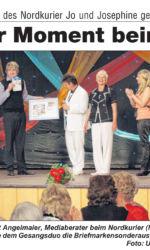Presseartikel Sänger Jo & Josephine bekommen eigene Briefmarke