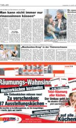 Presseartikel TV-Sendung Musikantenkrug in Tellow